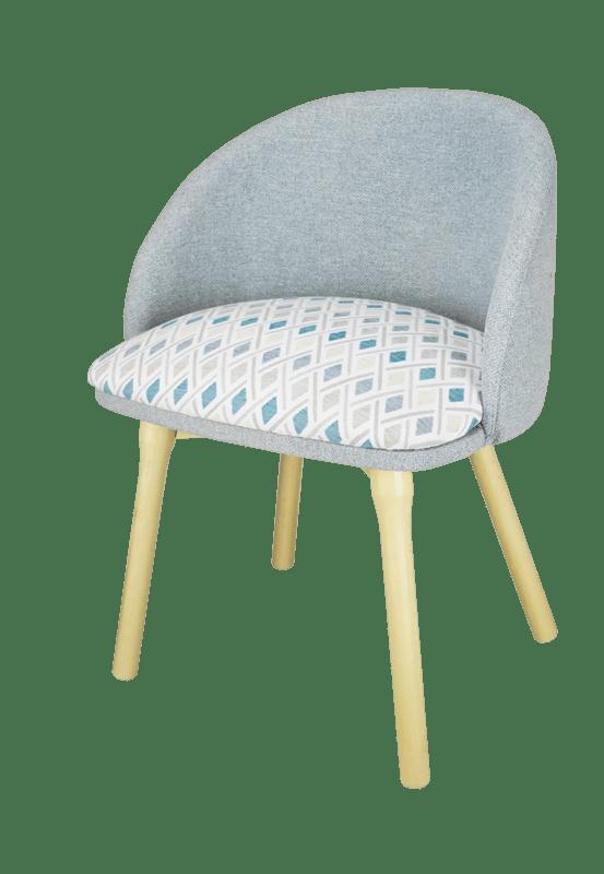 sillón tapizado