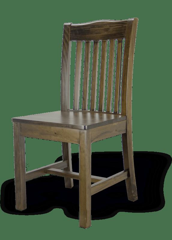 silla rustica modelo irlandes